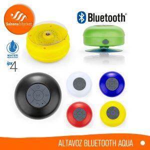 Promocionales Sabana Market Altavoz Bluetooth Aqua