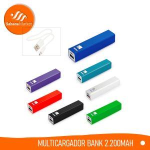 Promocionales Sabana Market Multicargador Bank